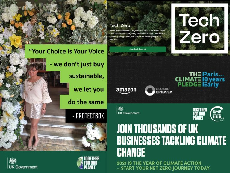 A call for businesses to tackle climate change, to become net xero, starting with buying sustainably.